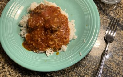 Instant Pot Porcupine Meatballs